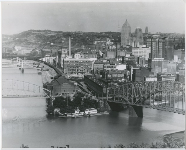 1-Downtown Pittsburgh before the Renaissance, ca. 1950