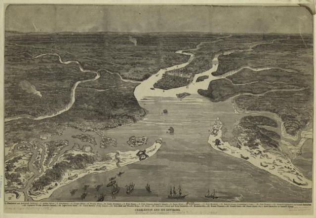 Charleston and its Environs, 1866