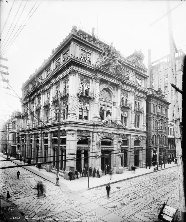 New Orleans Cotton Exchange 1881