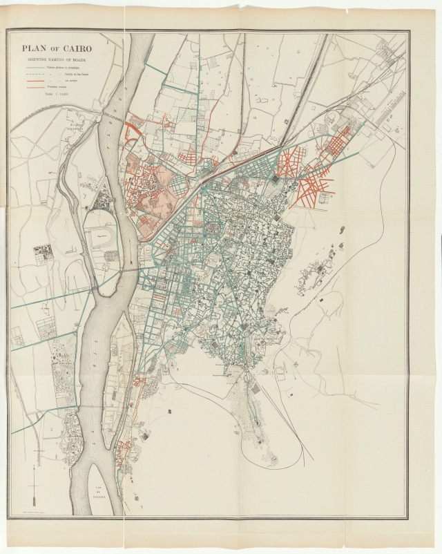 Map of Cairo_1904