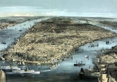 NYC around 1850