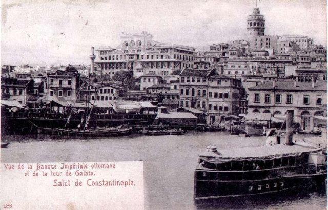 Postcard Ott Imp Bank