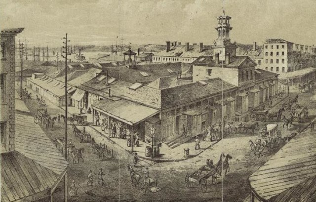 washington market 1850s