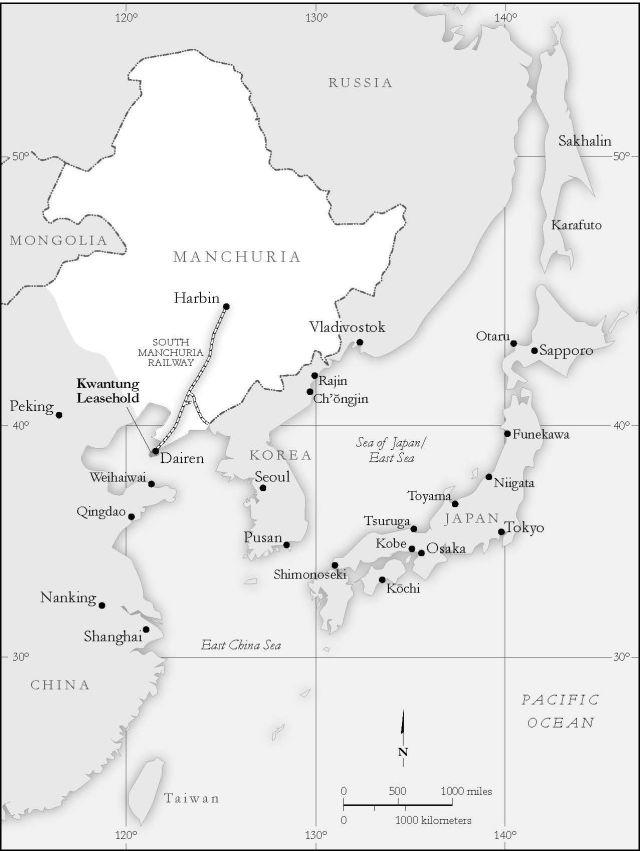 Map Dairen