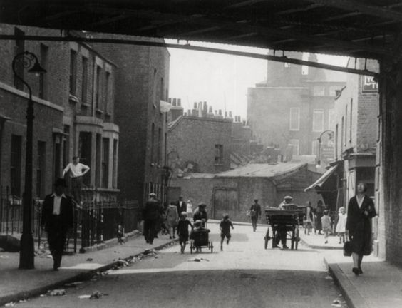 Chinatown, Limehouse Causeway, London, 1933