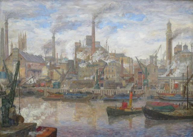 the_port_of_london_by_anders_svarstad_bergen_kunstmuseum