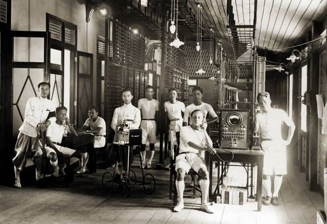 1930-telephone-exchange-centre-bkk