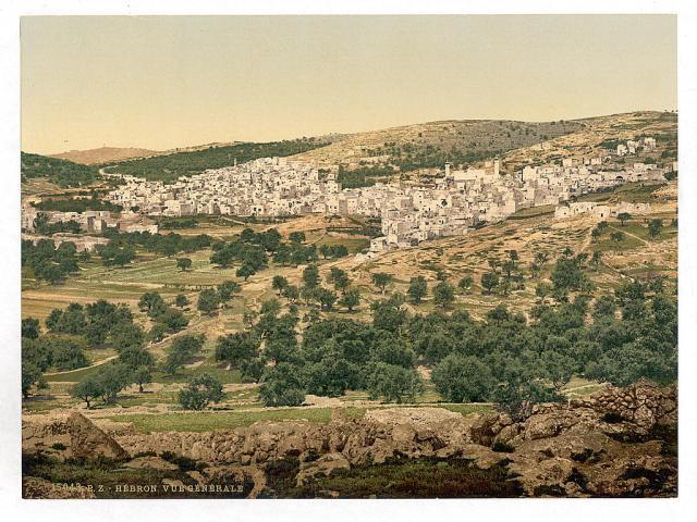 Pic 1 hebron 1890-1900