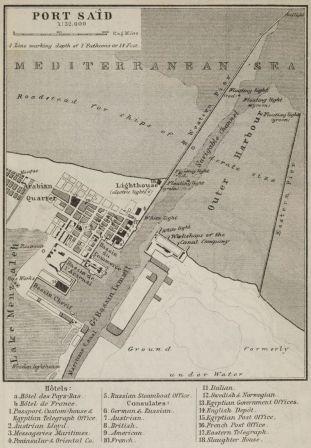 Baedecker Map