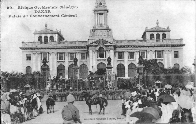 Dakar_Palais_du_Gouvernement_Général