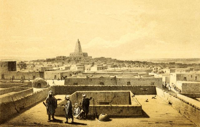 Barth_1858_Timbuktu_from_terrace