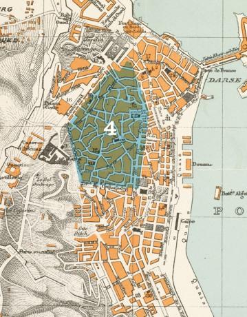 ALG postcard map FA