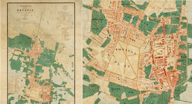 Ill. 2. Map of Batavia